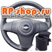 Оплетка на руль включая спицы Шевроле Нива с 2009-н.в. можно выбрать цвет нити - фото 6168