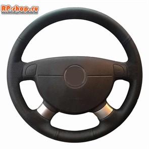 Оплетка на руль включая спицы Daewoo Gentra можно выбрать цвет нити