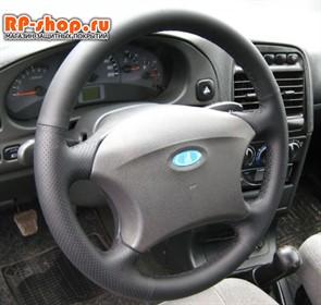 Оплетка на руль включая спицы для УАЗ-3163 Патриот 2005-2012 можно выбрать цвет нити