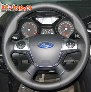 Ford Focus III 2011-2015 г.в. Оплетка для перетяжки руля включая спицы можно выбрать цвет нити