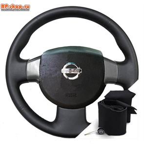 Оплетка на руль включая спицы для Nissan Almera Classic можно выбрать цвет нити