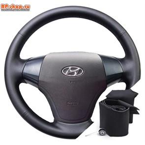 Оплетка на руль Hyundai Elantra IV (2006-2010) можно выбрать цвет нити