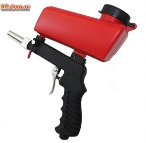 Пескоструйный пистолет с верхним бачком