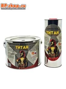 Краска ТИТАН Профи 6 кг. Сверхпрочное полиуретановое покрытие.