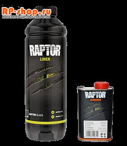 Покрытие или краска RAPTOR U-POL цвет черный