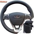 Оплетка на руль включая спицы для Лада Xray можно выбрать цвет нити - фото 5068