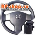 Оплетка на руль из экокожи для Nissan Tiida I c 2004-2012 г.в. - фото 5850