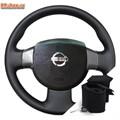 Оплетка на руль включая спицы для Nissan Almera Classic можно выбрать цвет нити - фото 5856