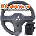 Оплетка на руль включая спицы для  Mitsubishi Colt VI можно выбрать цвет нити - фото 5863