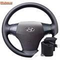 Оплетка на руль Hyundai Elantra IV (2006-2010) можно выбрать цвет нити - фото 5898
