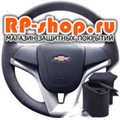 Оплетка на руль Шевроле Шевроле Авео с 2012 г.в. можно выбрать цвет нити - фото 6172
