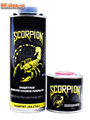 Краска Скорпион черный - фото 6302